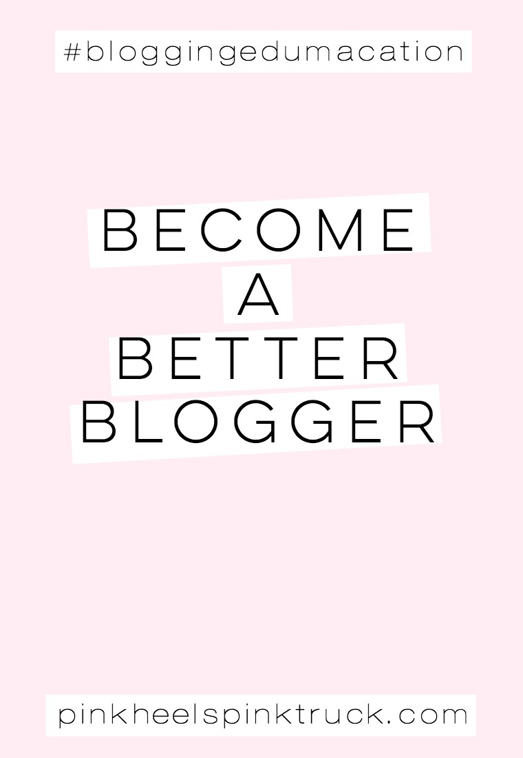 Learn how to become a better blogger through my #bloggingedumacation series. Want more? Also check out my podcast: Boss Girl Creative!