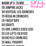 Full Body Workout #5