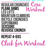 Core Workout #1