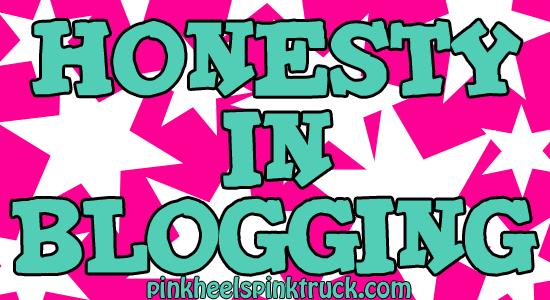 honesty in blogging