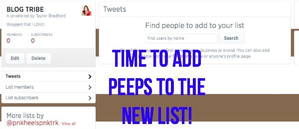 Twitter Lists 5