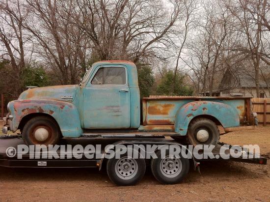 Pink Heels Pink Truck's 1954 GMC Pickup Truck