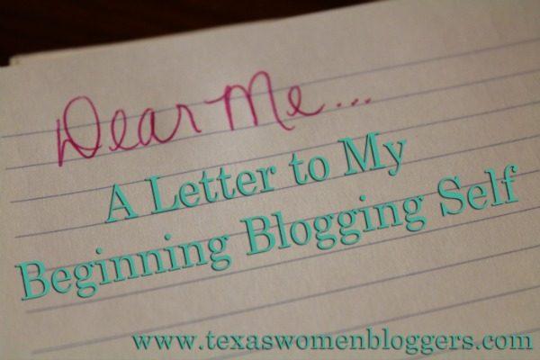 Dear Me…