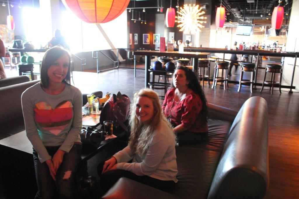 Gayle, Helene and Holli