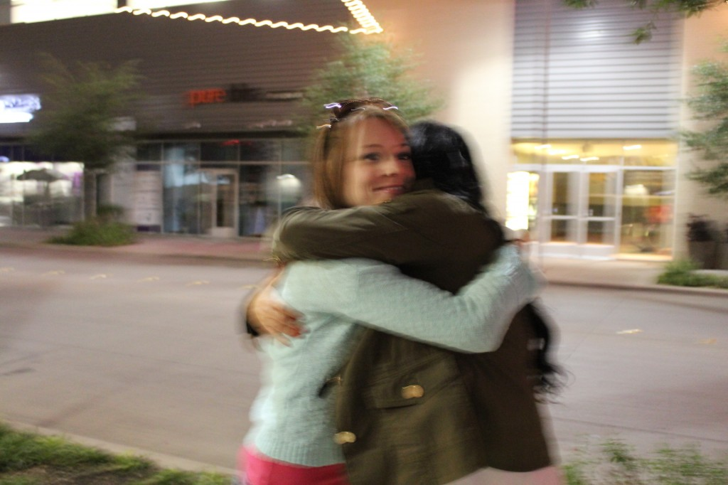 Goodbye Hugs