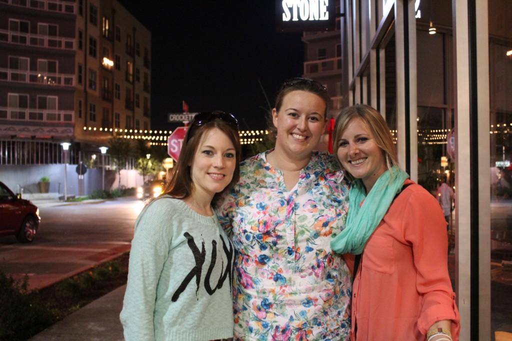 Taylor, Nicole and Sarah