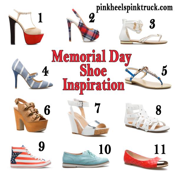 Memorial Day Shoe Inspiration