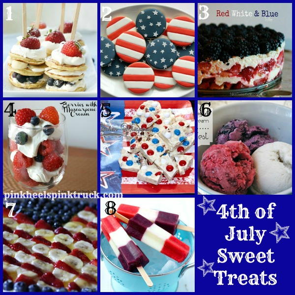 4th of July Sweet Treats