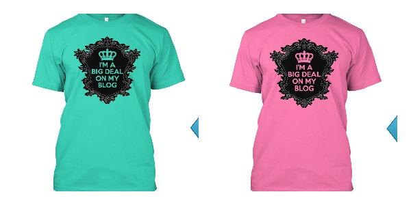 Hope Mission Blogging Tshirts