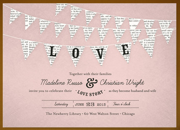 Minted Wedding Invitation