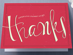 Minted Thank You Cards