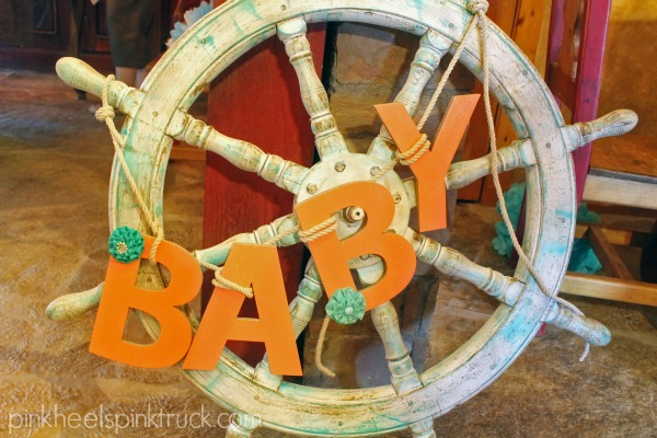 Beach Themed Baby Shower 5