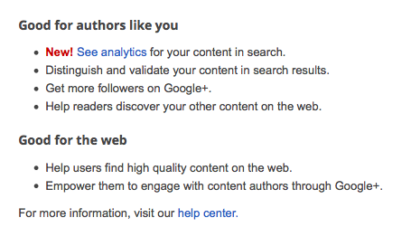 Why link your content? Google Authorship via Pink Heels Pink Truck
