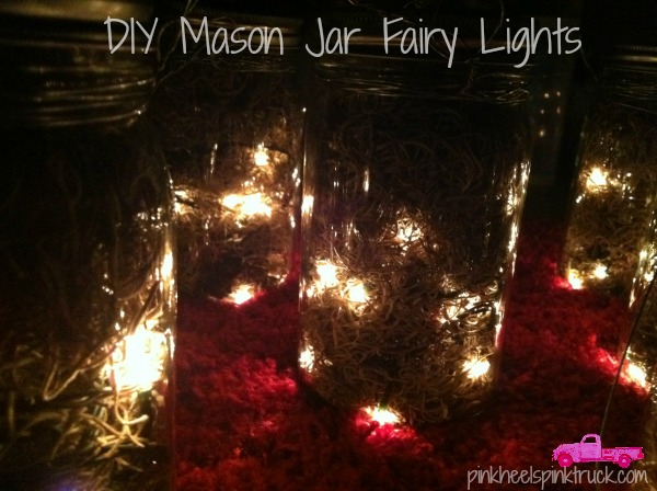 Diy Mason Jar Fairy Lights Taylor Bradford