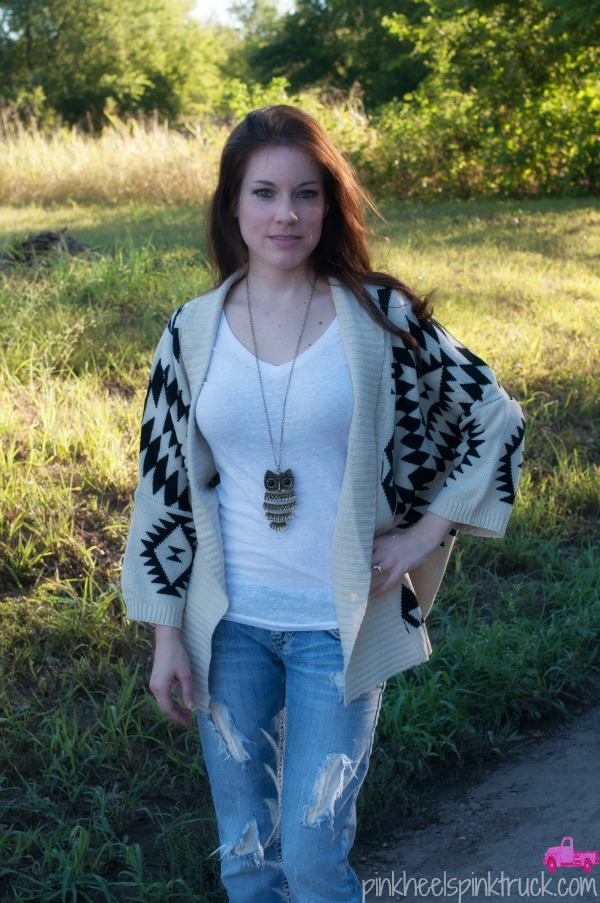 Aztek Cardigan from Threads and Souls Boutique