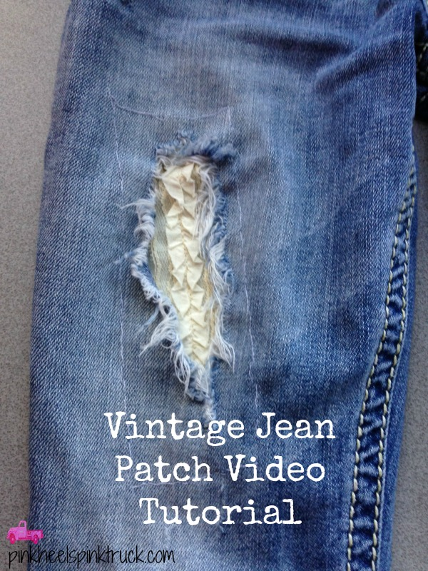 Vintage Jean Patch Tutorial
