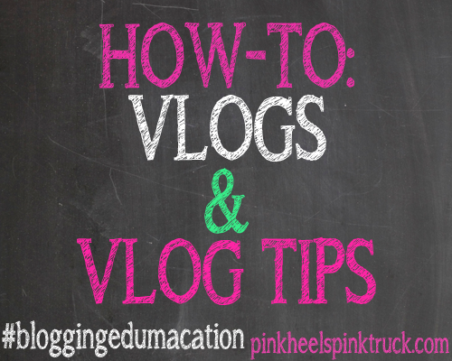 #bloggingedumacation - VLOGS