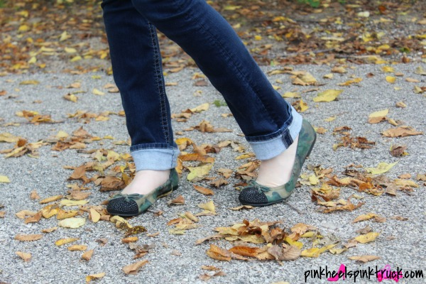 Camo Flats and Skinny Jeans