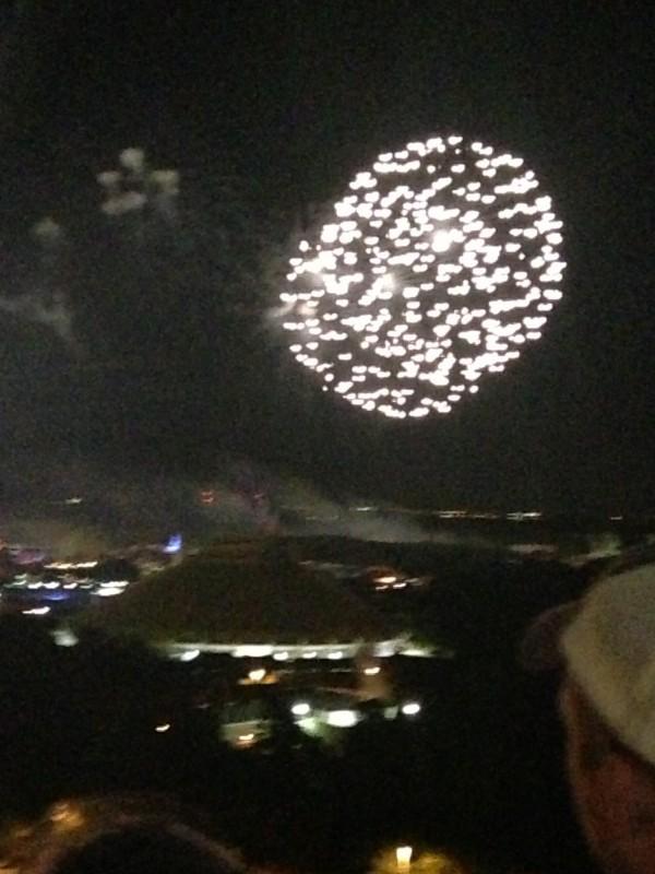 Fireworks over Magic Kingdom Disney World