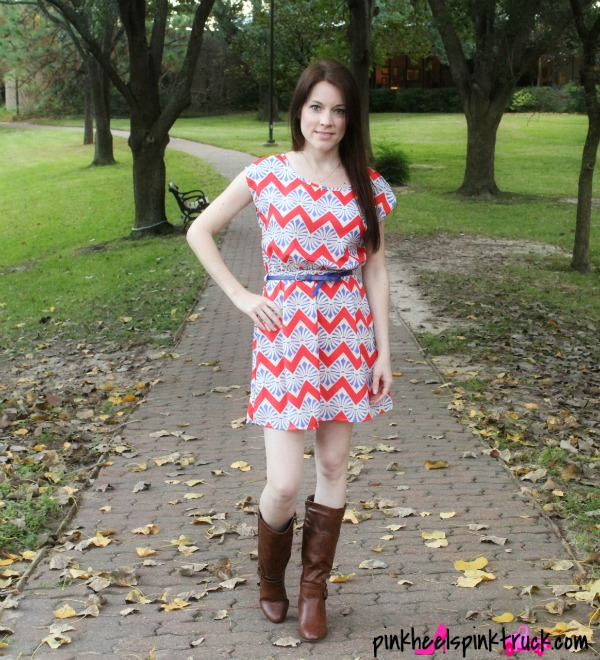 Chevron Dress from Threads & Souls