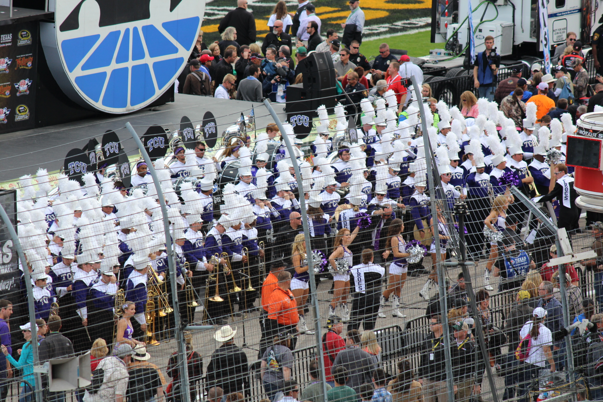 TCU Horned Frog Marching Band
