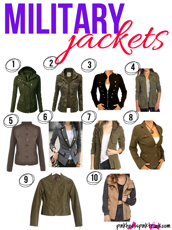 Looking to add a Military Jacket to your Wardrobe? Check out these 10 Military Jacket styles.