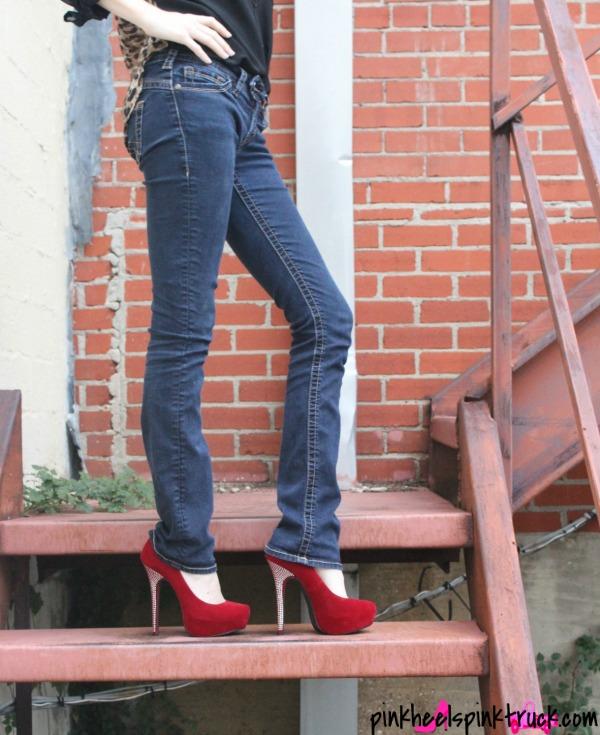 Red High Heels