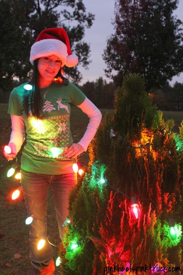 Skip N Whistle Ugly Christmas Sweater Tshirt