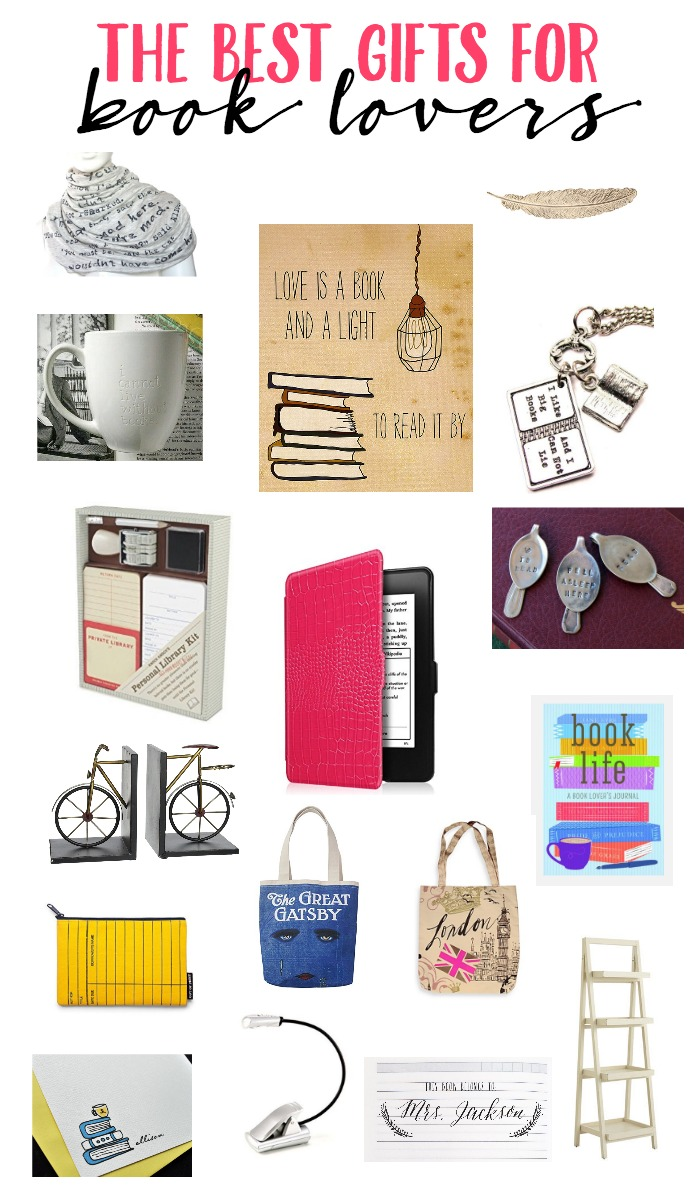 Looking for a gift for the book lovers in your life? Take a peek at this list. You're sure to find the perfect Book Lover gift!