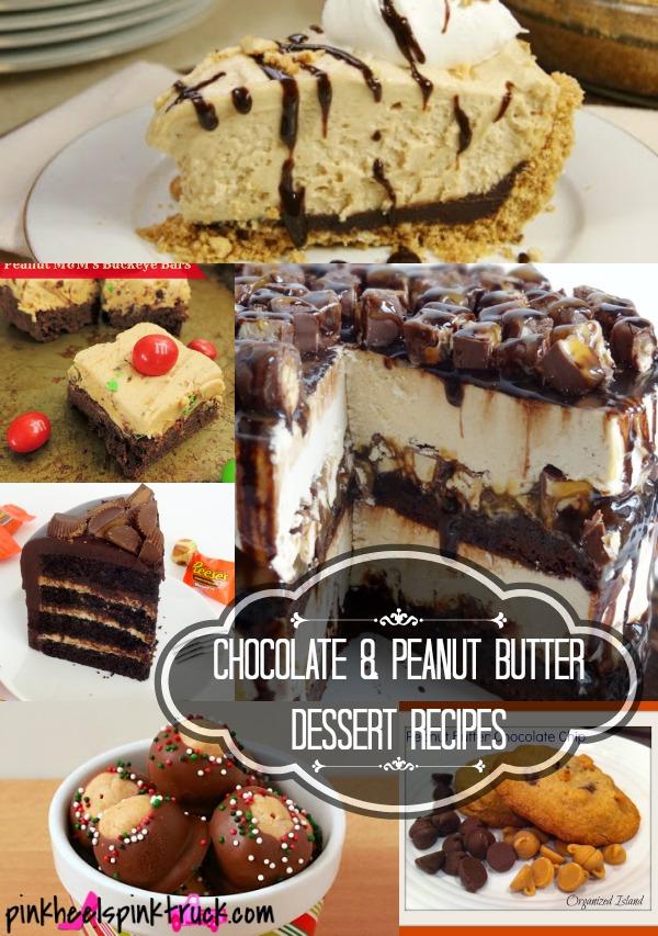 Chocolate & Peanut Butter Dessert Recipes