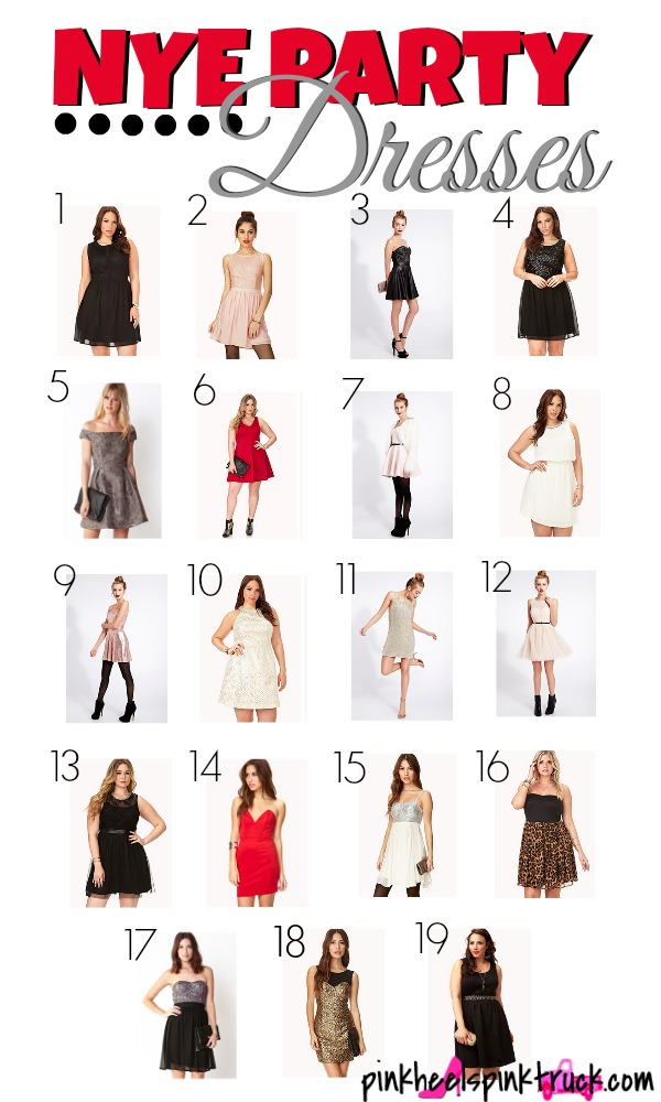 Affordable New Years Eve Party Dress Ideas
