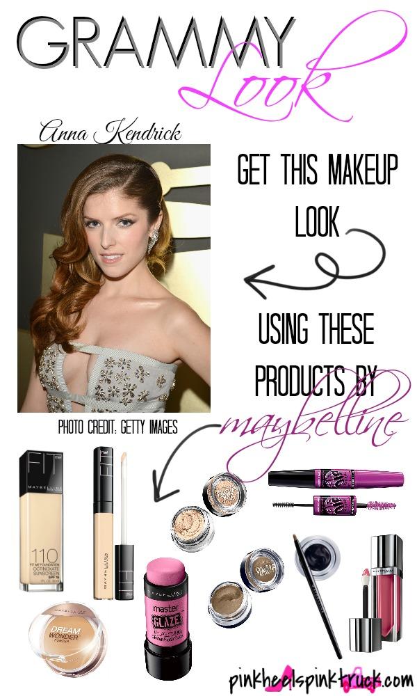 Grammy Look Anna Kendrick Makeup
