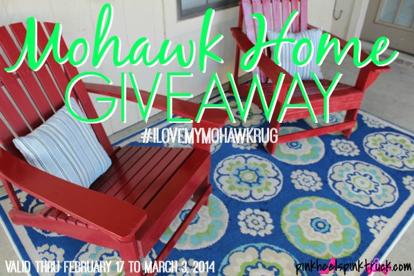 Win a 5x8 rug from Mohawk Home (valued up to $150) #ilovemymohawkrug