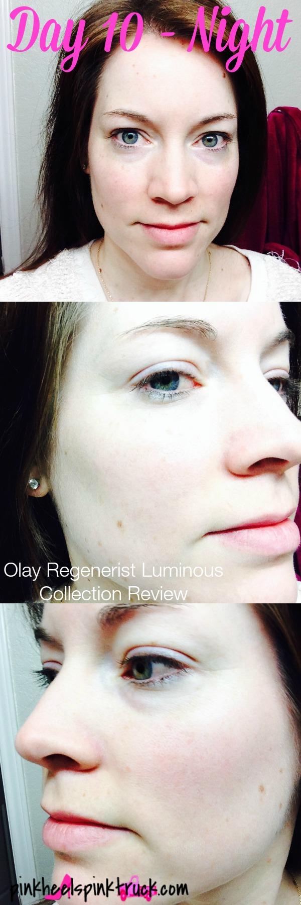 Olay Regenerist Luminous Collection Day 10 Night