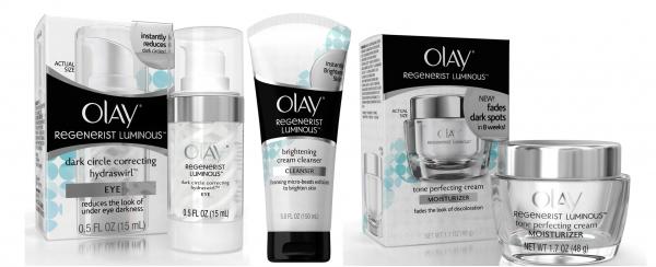 Olay Regenerist Luminous Products