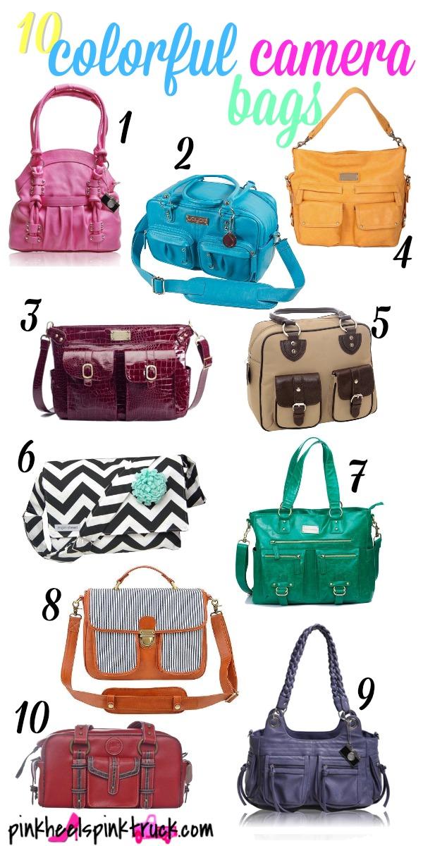 10 Colorful Camera Bags