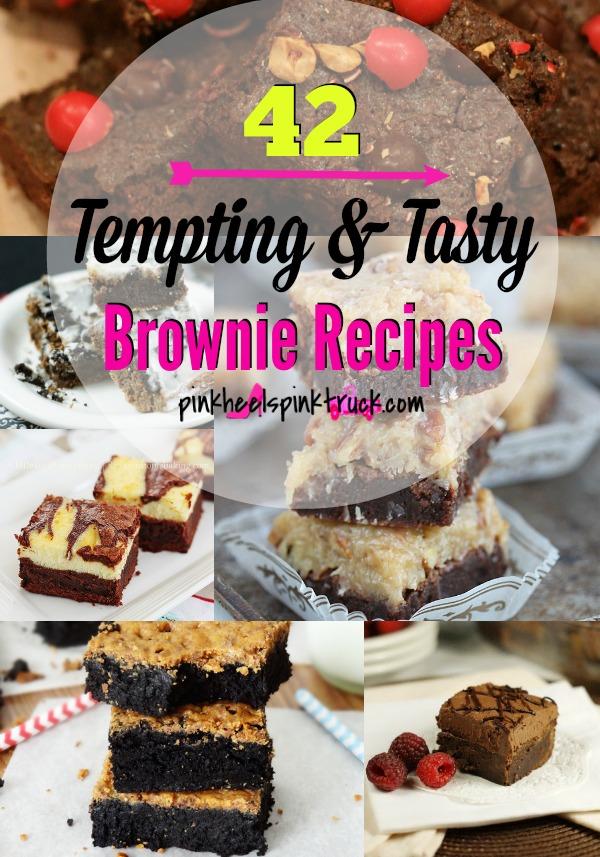 42 Tempting & Tasty Brownie Recipes