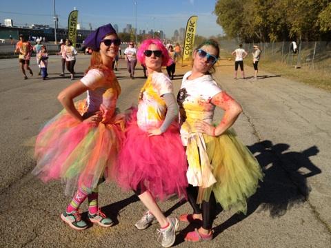 5K Color Run - Wear Tutus