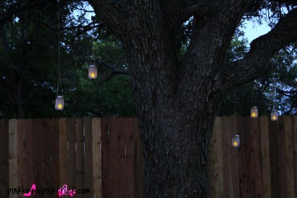 Mason Jar Hanging Lanterns 10