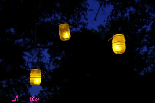 Mason Jar Hanging Lanterns 12