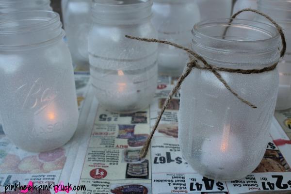 Mason Jar Hanging Lanterns 7