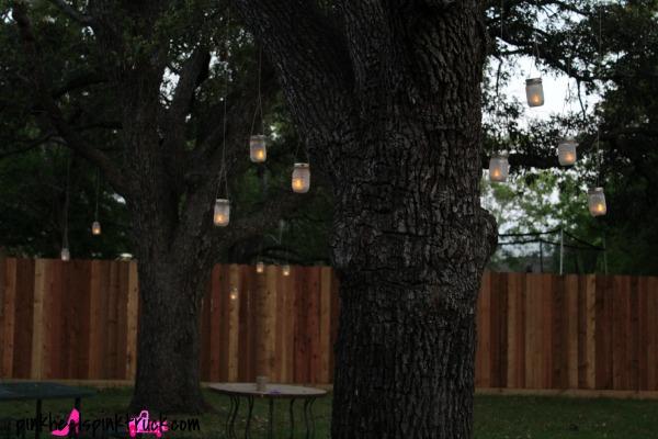Mason Jar Hanging Lanterns 8