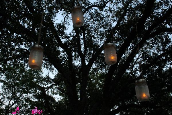 Mason Jar Hanging Lanterns 9
