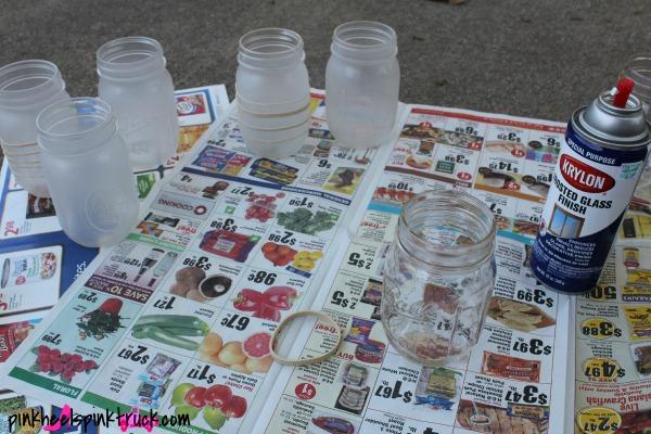 Mason Jar Lanterns 2