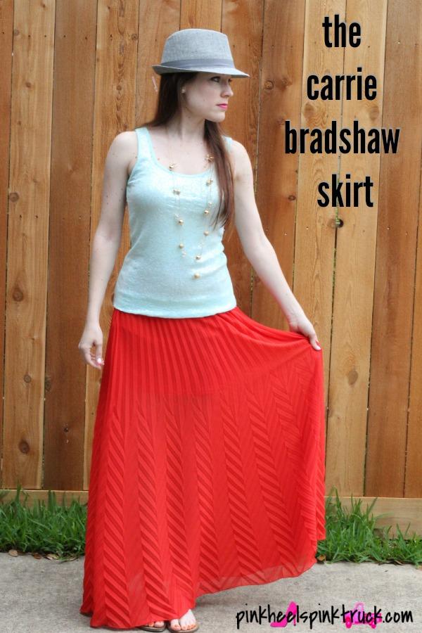 Get your own Carrie Bradshaw Skirt from KikiLaRue.com!! #carriebradshaw #fashion #skirt #sexinthecity #sjp