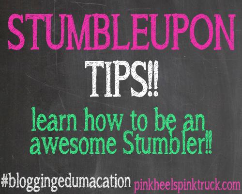 Blogging Edumacation StumbleUpon