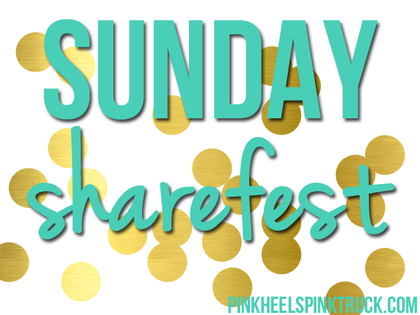 Each week I'll be sharing some blog posts that I think you will enjoy! Welcome to Sunday Sharefest!
