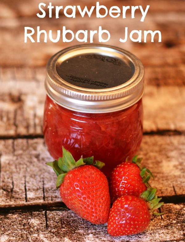 Strawberry Rhubarb Jam - Pink Heels Pink Truck