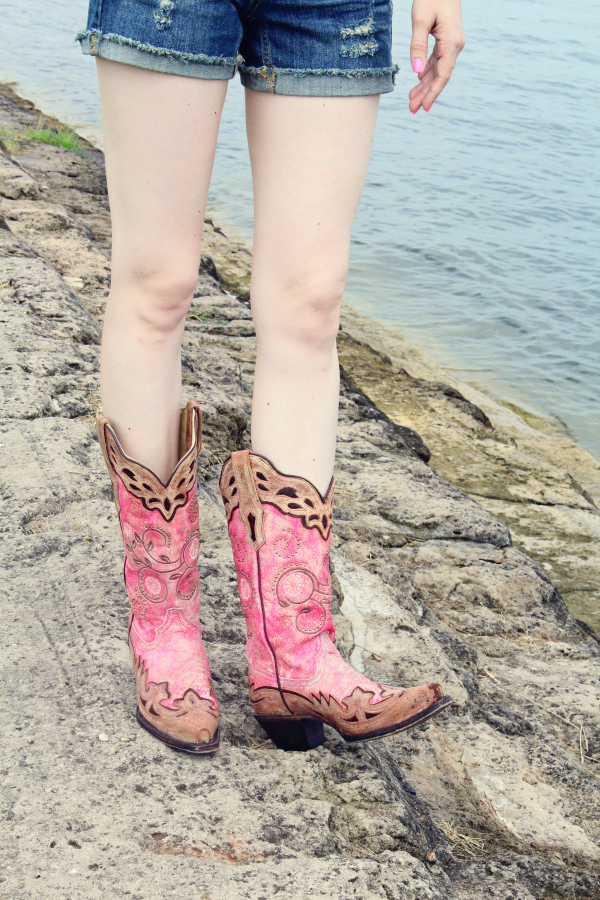 These Pink Corral boots are the perfect addition to any country girl's wardrobe! countryoutfitter.com #countryoutfitter #sponsored