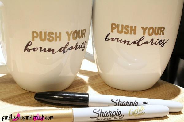 DIY Sharpie Mug Tutorial 6